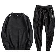 L-10XL Men Tracksuit Sports Suit <b>Autumn Large Size</b> Loose Male ...