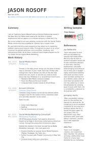 social media intern resume samples   visualcv resume samples databasesocial media intern resume samples