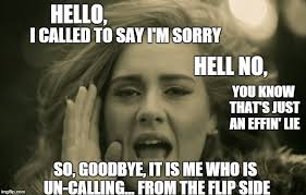 adele hello - Imgflip via Relatably.com