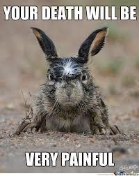 Memes Vault Angry Bunny Memes via Relatably.com