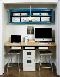 furniture attractive closet office design ideas for two person completed with pc units and stools amazing amazing attractive office design
