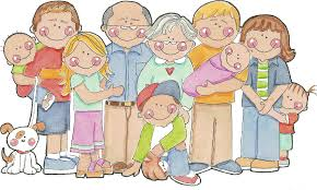 Image result for free clip art of family with grandparents