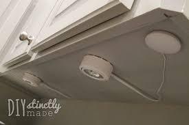 recessed under cabinet lighting diystinctlymadecom cabinet xenon lighting