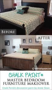 chalk paint revised bedroom furniture makeover