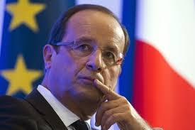 Le président <b>Francois Hollande</b>, le 9 octobre 2012. - Francois-Hollande-obtient-une-majorite-de-gauche-pour-le-traite-budgetaire-europeen_article_popin