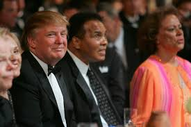 donald trump forgets muslim champions during obama criticism nbc image donald trump l and muhammad ali c