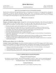 Customer service resume call center