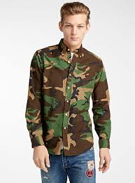 camouflage oxford cloth