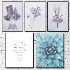 <b>Modern Nordic Minimalist</b> Flower Canvas Art Poster Print Wall ...