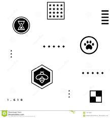 Black Abstract Geometric <b>Hipster</b> Pattern With Simple Shapes - Paw ...
