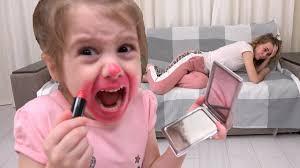Pretend Play <b>Makeup for</b> little princess - YouTube