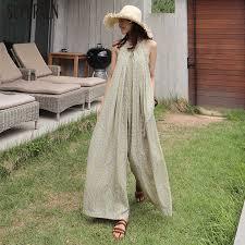 SuperAen <b>Cotton</b> and Linen Sleeveless Dress <b>Women Korean Style</b> ...