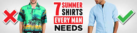 Looking Great Without The Sweat: Seven <b>Men's Summer Shirts</b> To ...