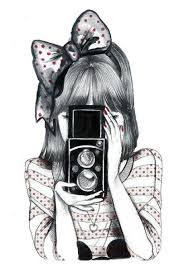 Image result for vintage camera girly