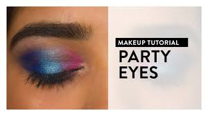 <b>Bright</b> Party <b>Eye Makeup</b> Tutorial | MyGlamm - YouTube