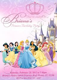 disney princess invitation template ctsfashion com disney princess birthday invitation template