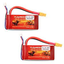 2 New FLOUREON <b>3S 11.1V 1500mAh</b> 35C RC Li-Polymer <b>Lipo</b> ...