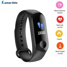 M3 C <b>Smart Watch</b> Bracelet Heart Rate Blood Pressure Monitor ...