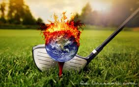 Image result for world on fire obama golfing pics