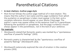 How to do an embedded citation in an essay   satkom info Creating a Works Cited Page and Parenthetical Citations color Page   jpg