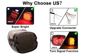 MOVOTOR Harley Tail Light Integrated Turn Signal ... - Amazon.com