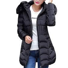 OYSOHE Fashion Winter <b>Womens</b> Long Jacket Warm <b>Cotton Slim</b> ...