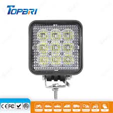 China <b>4inch 27W Square</b> Flood LED Auto Trailer Truck Agriculture ...