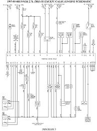 toyota runner trailer wiring diagram solidfonts 1998 toyota 4runner radio wiring diagram vehiclepad