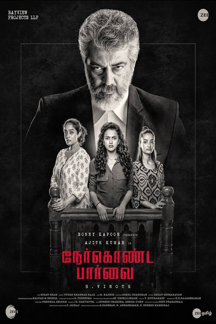 Download Nerkonda Paarvai (2019) Dual Audio {Hindi-Tamil} 480p | 720p