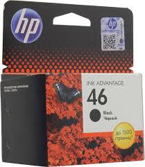 <b>Картридж HP 46</b> (CZ637AE), черный, для струйного принтера ...