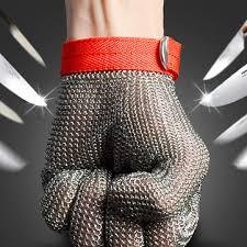 <b>safety cut proof</b> stab <b>resistant</b> stainless steel metal mesh butcher ...