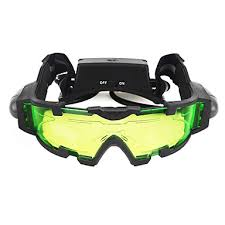 <b>Night Vision</b> Goggles with Flip out Blue Led Lights Lenses ...
