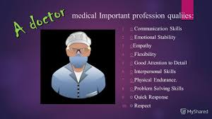 Презентация на тему mini project what points should we 3 medical important profession qualiies communication skills emotional stability empathy flexibility good attention to detail interpersonal skills physical