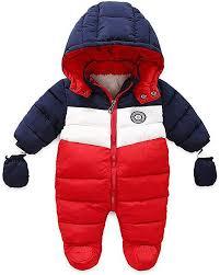 RUIMING Newborn Baby Snowsuit Infant Winter Coat ... - Amazon.com