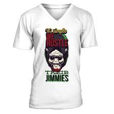 It's <b>Simple We Rustle</b> Their Jimmes Illustration V Neck Men Tees - T ...