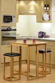 furniture joy caspian natural oak drop leaf breakfast set with 2 bar stools breakfast set furniture