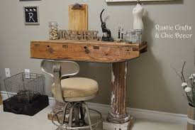 diy desk by rustic craftscom build rustic office desk