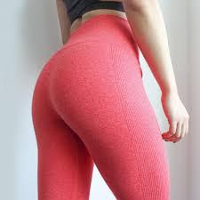 <b>Women</b> High Elastic <b>Fitness Sport Gym Leggings</b> Yoga <b>Pants</b> Slim ...