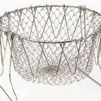 Шеф Баскет (Chef Basket) - <b>складная решетка</b> для приготовления ...