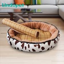 <b>Dog Bed summer</b> Warming Kennel Pet Floppy Extra Comfy Plush ...
