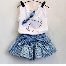 summer baby <b>girl clothing sets fashion</b> Cotton print shortsleeve T ...