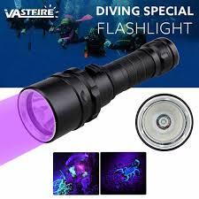 VastFire подводный 100 м УФ дайвинг <b>фонарик</b> 395nm <b>фонарь</b> ...
