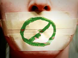 Image result for silencing people