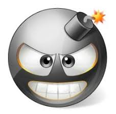 Afbeeldingsresultaat voor bomb smiley face