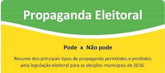 Resultado de imagem para VAI COMEÇAR A PROPAGANDA ELEITORAL
