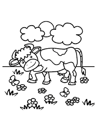 Small Picture 35 Cow Coloring Pages ColoringStar