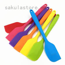 <b>1PC</b> Kitchen <b>Silicone</b> Baking Cake <b>Cream</b> Butter <b>Spatula</b> Batter ...