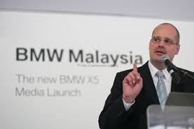 Wolfgang Schlimme, MD of BMW Malaysia - 2207F65319810
