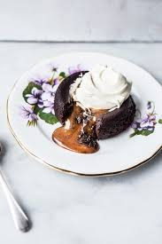 <b>Salted Caramel Filled</b> Molten <b>Chocolate</b> Cakes - Izy Hossack - Top ...