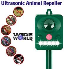 Ultrasonic Pest Repeller by Wide World - Solar ... - Amazon.com